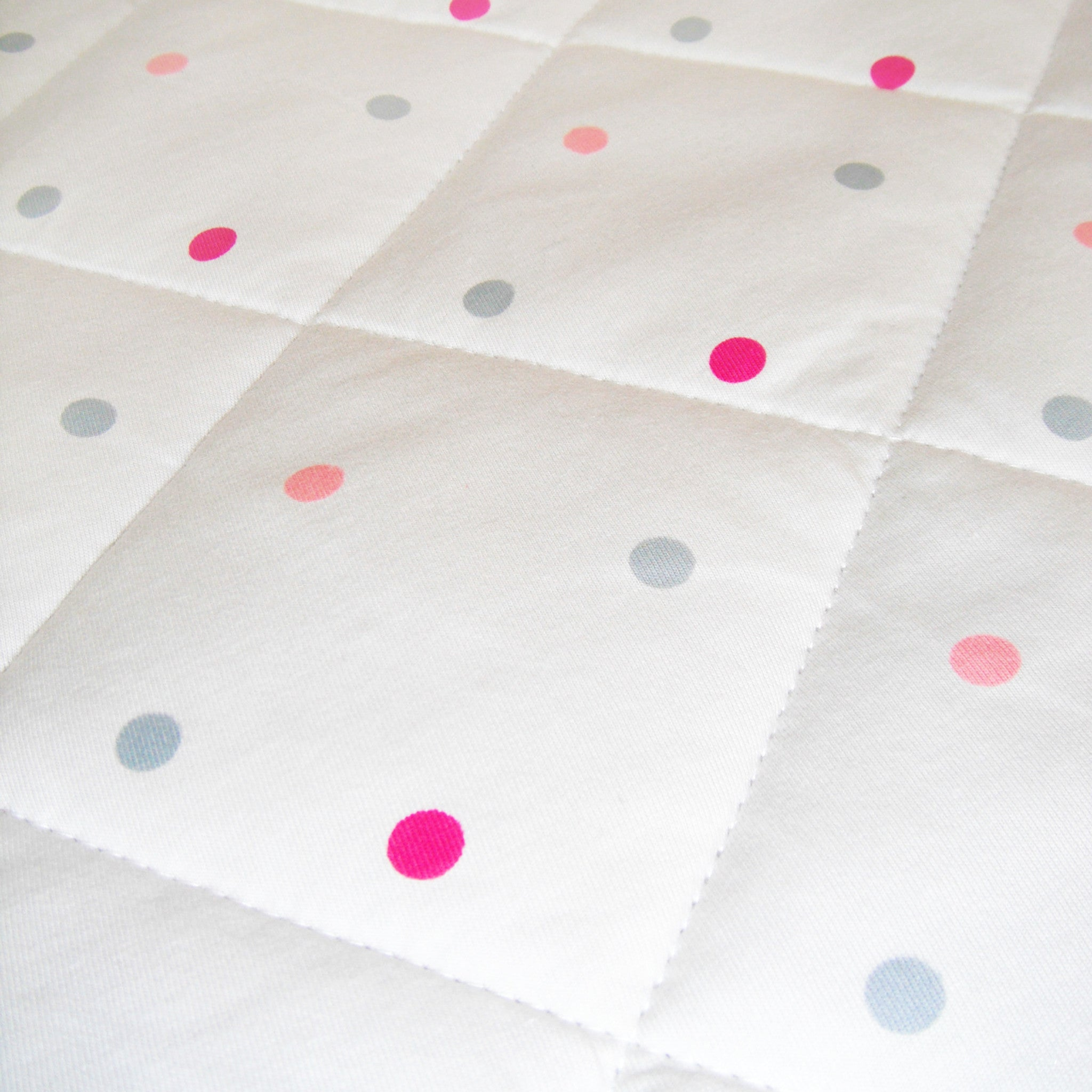 Baby Play Mat - Blush 100% Cotton Cover
