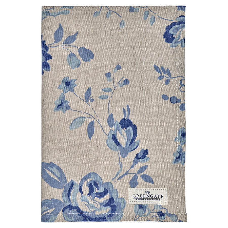 Tea Towel - Amanda Dark Blue