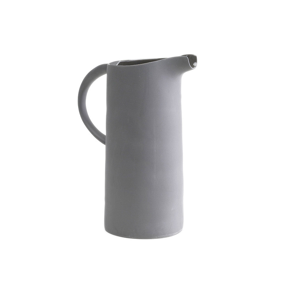 Flinders Porcelain Pitcher/Jug - grey
