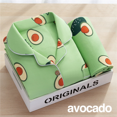 Avocado woman pyjama set