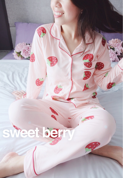 New! Sweet Berries Pyjama Set