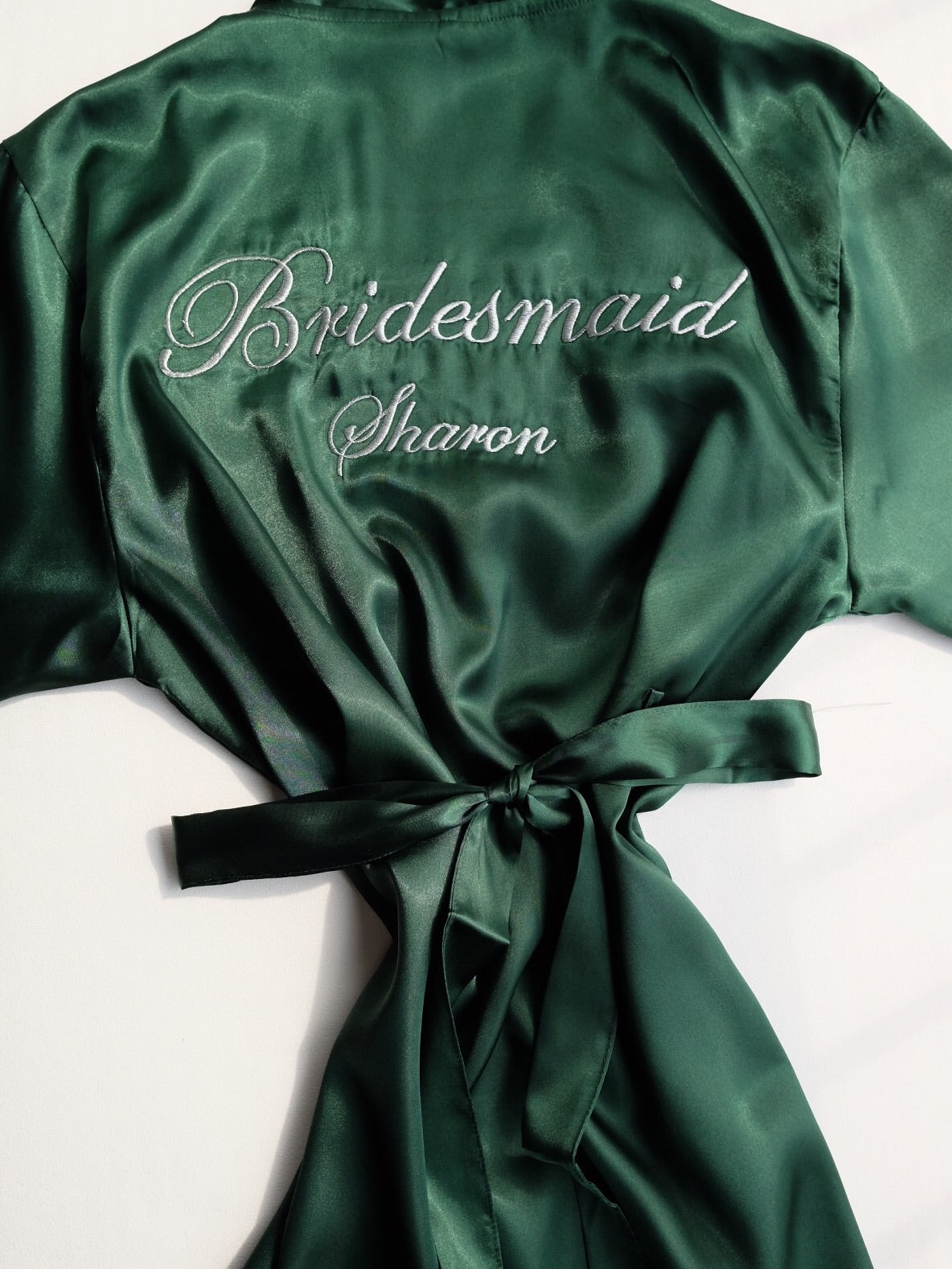 c79255ce7a Bridal Satin Robe (Personalised with embroidery name) - It s Personal