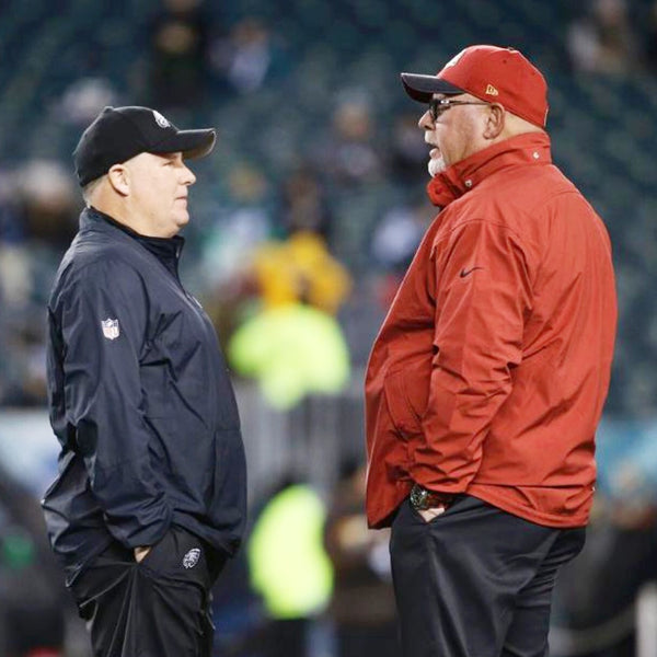Arizona Cardinals Head Coach Bruce Arians wearing Horus
