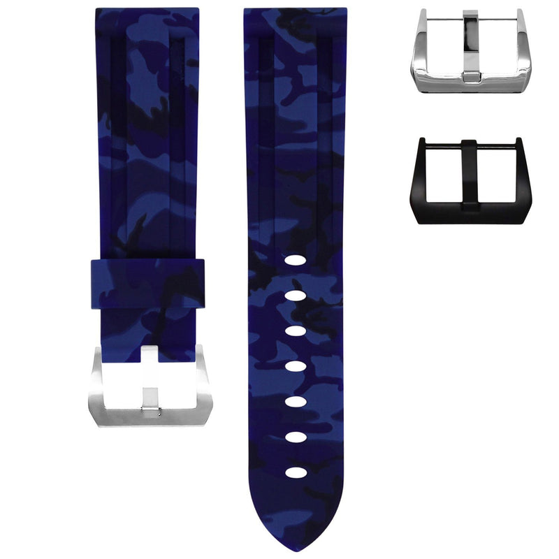 SAMSUNG GEAR S3 WATCH STRAP - OCEAN CAMO RUBBER