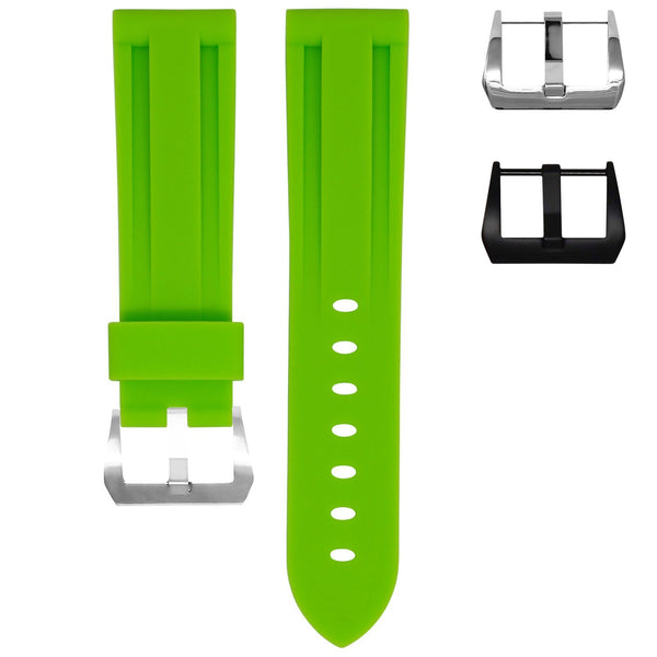SAMSUNG GEAR S3 WATCH STRAP - LIME RUBBER