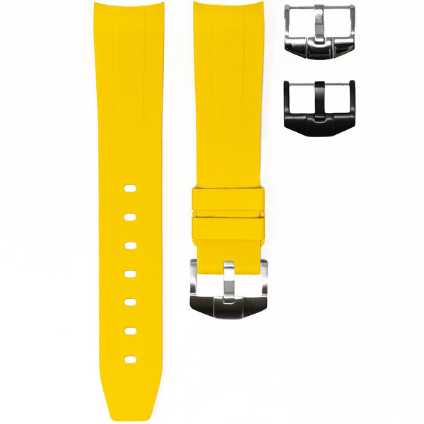 OMEGA SPEEDMASTER STRAP - YELLOW RUBBER