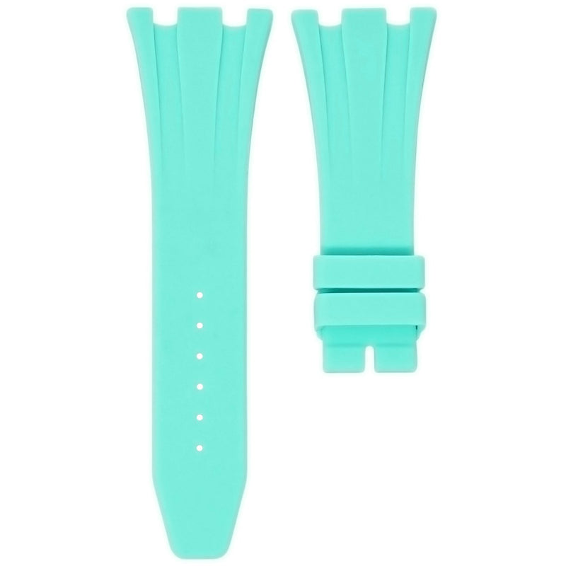 SEAFOAM RUBBER STRAP FOR AUDEMARS PIGUET ROYAL OAK OFFSHORE 42MM DEPLOYANT CLASP