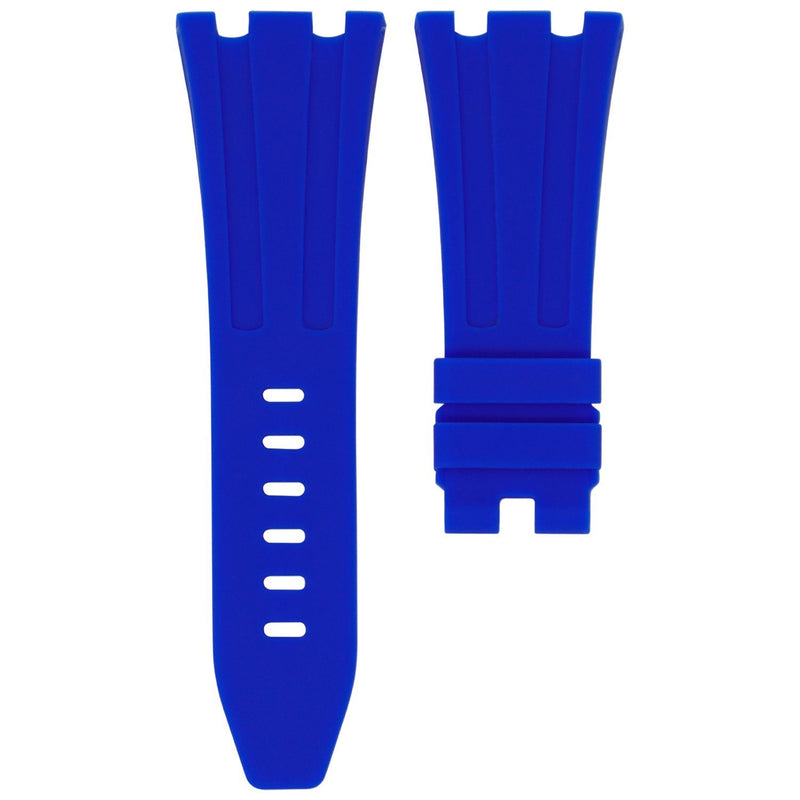 GULFSTREAM BLUE RUBBER STRAP FOR AP ROYAL OAK OFFSHORE 42MM TANG BUCKLE