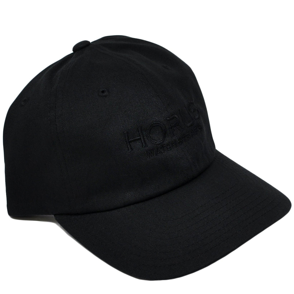 Horus Logo Hat - Black