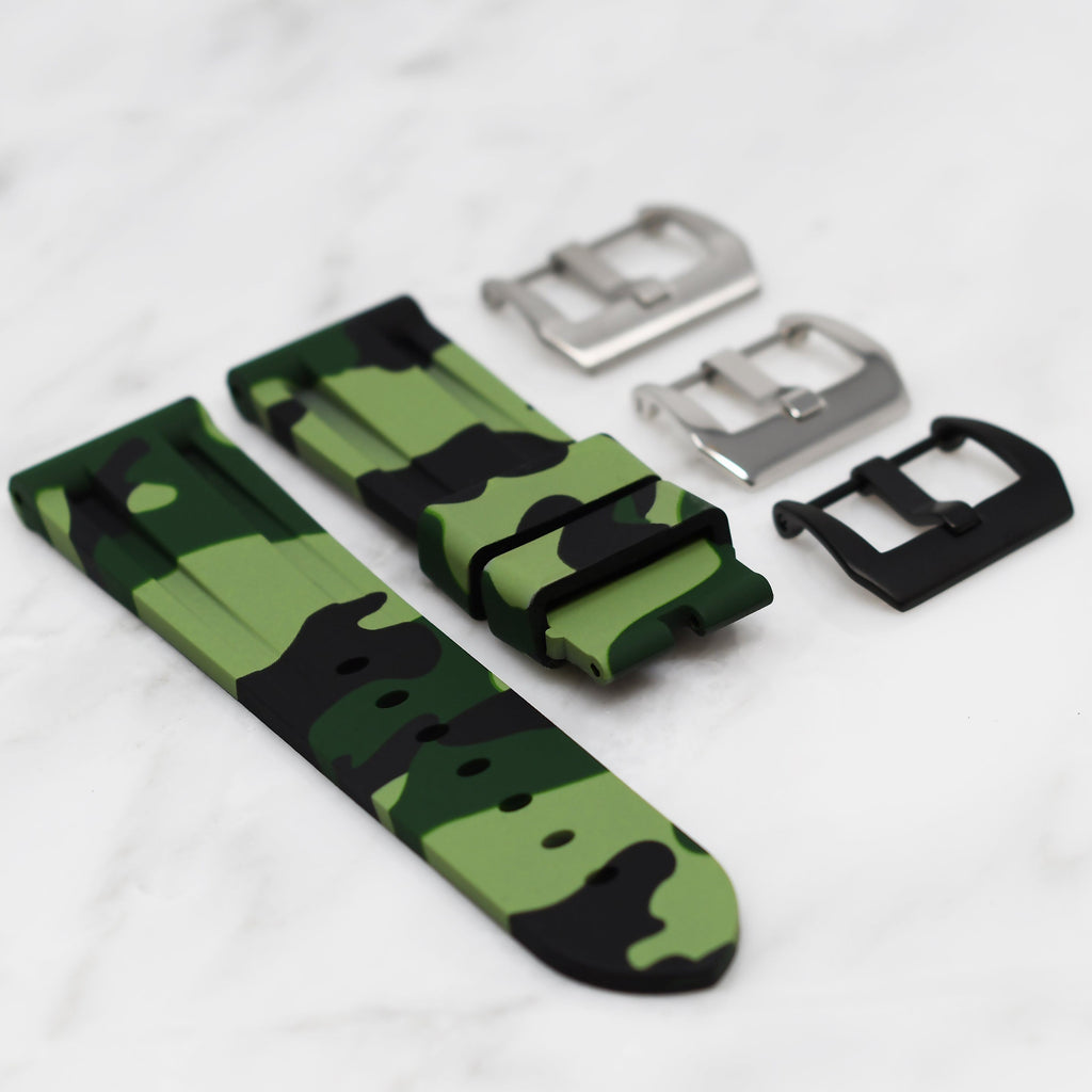 GREEN CAMO BREITLING PROFESSIONAL STRAP