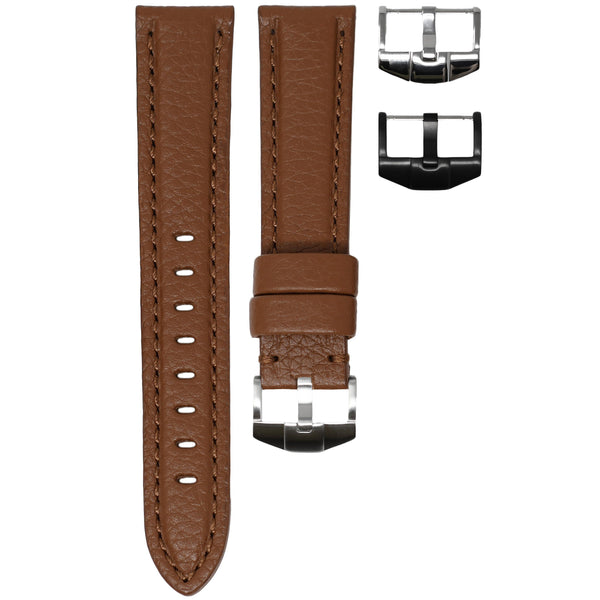 ORIS BIG CROWN STRAP - COGNAC LEATHER