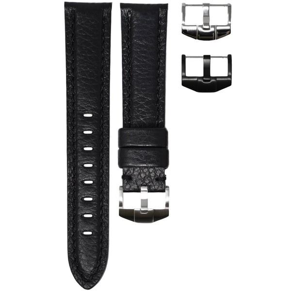 ORIS BIG CROWN STRAP - BLACK LEATHER
