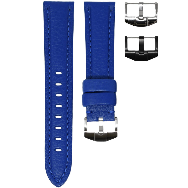 TAG HEUER AQUARACER STRAP - BLUE LEATHER