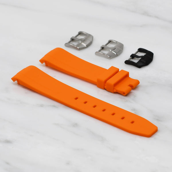 ROLEX SEA-DWELLER 4000 STRAP - ORANGE RUBBER