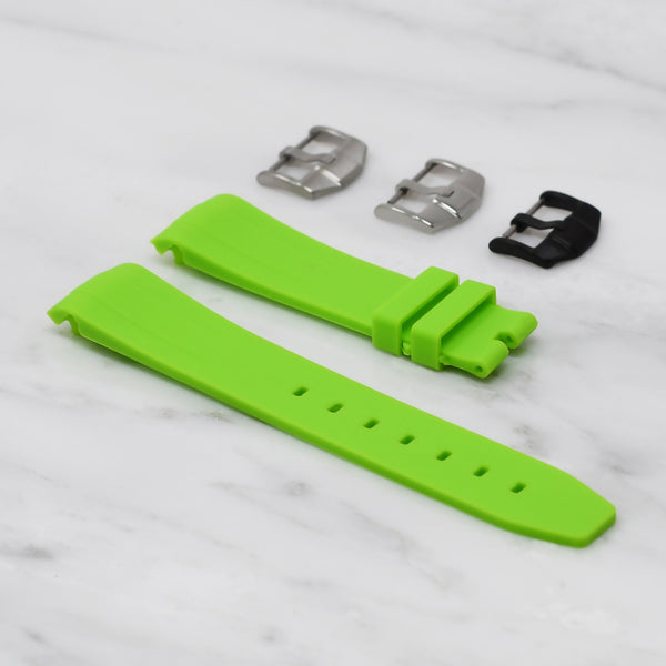 IWC PORTUGIESER STRAP - LIME RUBBER