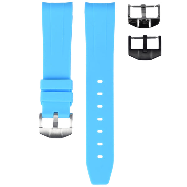 MIAMI BLUE OMEGA PLANET OCEAN 600M 42MM STRAP