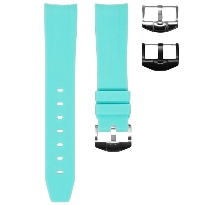 SEAFOAM RUBBER STRAP FOR ROLEX YACHT-MASTER