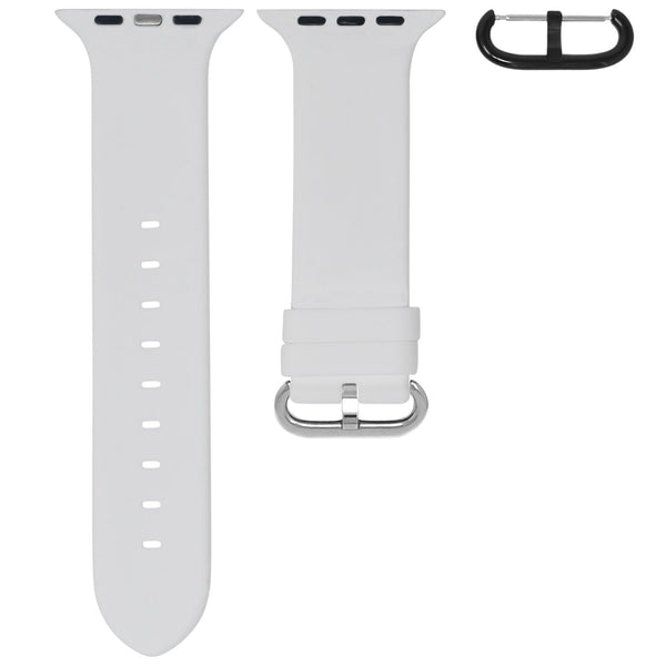 APPLE WATCH STRAP - WHITE RUBBER