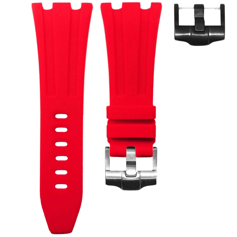AP DIVER STRAP - RED RUBBER