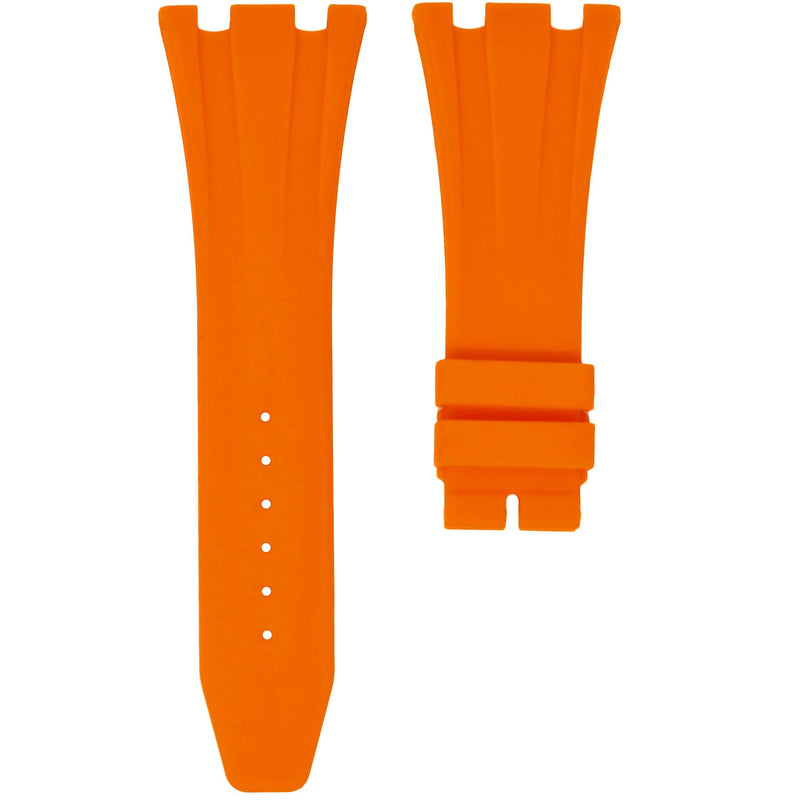 AP ROYAL OAK OFFSHORE 42MM DEPLOYANT CLASP STRAP - ORANGE RUBBER