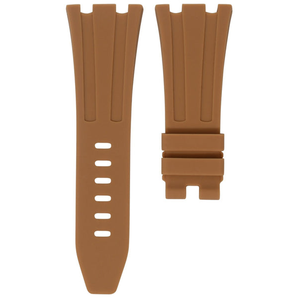 AP ROYAL OAK OFFSHORE 42MM TANG BUCKLE STRAP - TAN RUBBER
