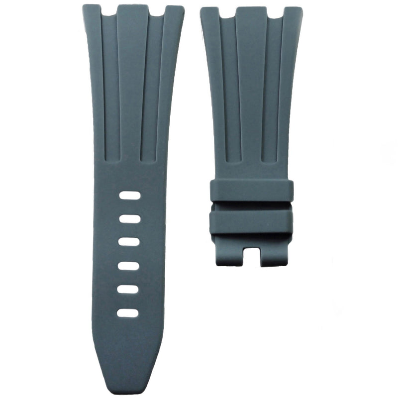 AP ROYAL OAK OFFSHORE 42MM TANG BUCKLE STRAP - GREY RUBBER