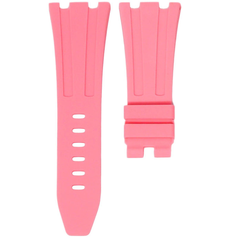 AP ROYAL OAK OFFSHORE 42MM TANG BUCKLE STRAP - PINK RUBBER