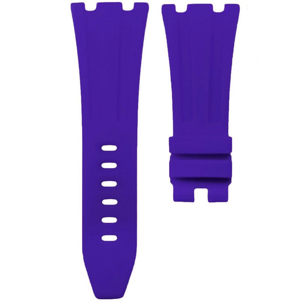 AP ROYAL OAK OFFSHORE 42MM TANG BUCKLE STRAP - PURPLE RUBBER