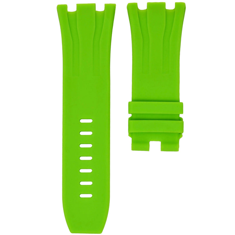 AP ROYAL OAK OFFSHORE 44MM STRAP - LIME RUBBER