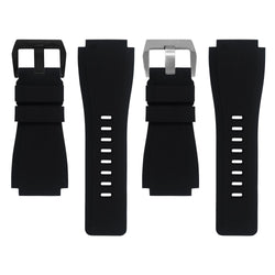 BELL & ROSS BR-01 / BR-03 STRAP - BLACK RUBBER