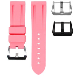 BREITLING TRANSOCEAN STRAP - FLAMINGO PINK RUBBER