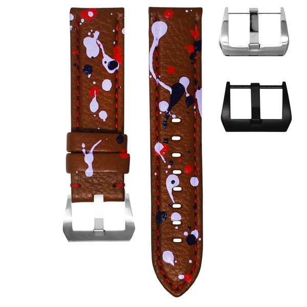 "PANERAI RADIOMIR STRAP BY MAISON GRIS - ""ABSTRACT"""