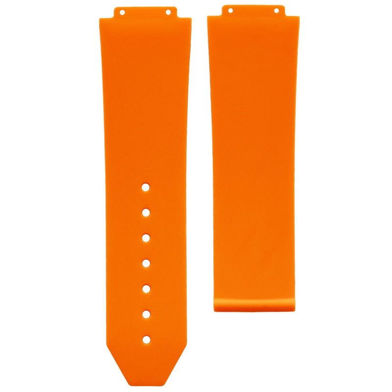 HUBLOT BIG BANG 44MM STRAP - TANGERINE RUBBER