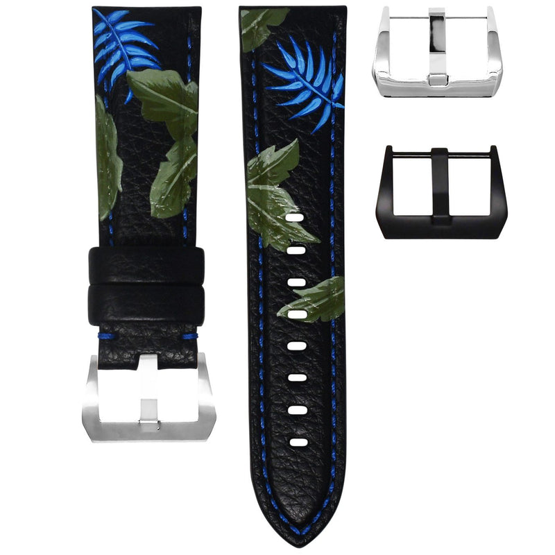 "PANERAI LUMINOR STRAP BY MAISON GRIS - ""TROPICAL PLANTS"""