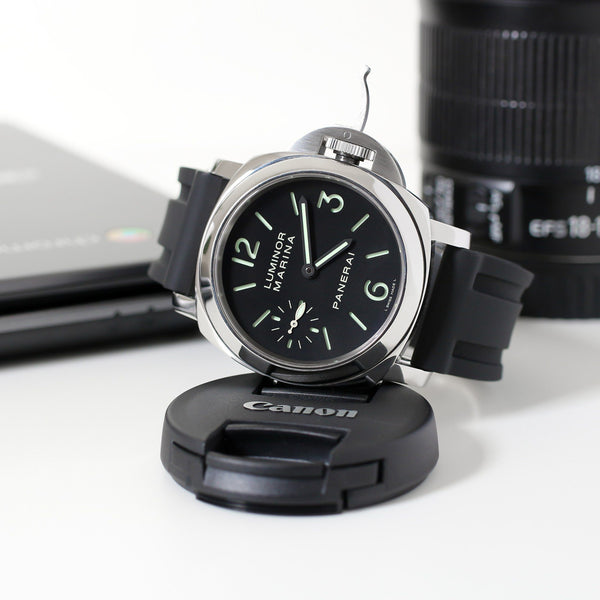 PANERAI LUMINOR STRAP - BLACK RUBBER
