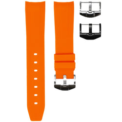 ROLEX OYSTER PERPETUAL STRAP - ORANGE RUBBER