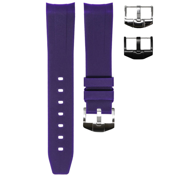 ROLEX EXPLORER I STRAP - PURPLE RUBBER