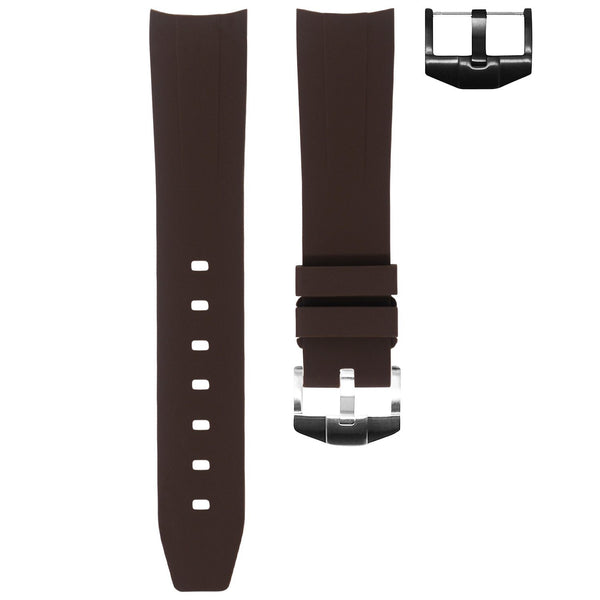 ROLEX DATEJUST 36MM STRAP - ESPRESSO RUBBER