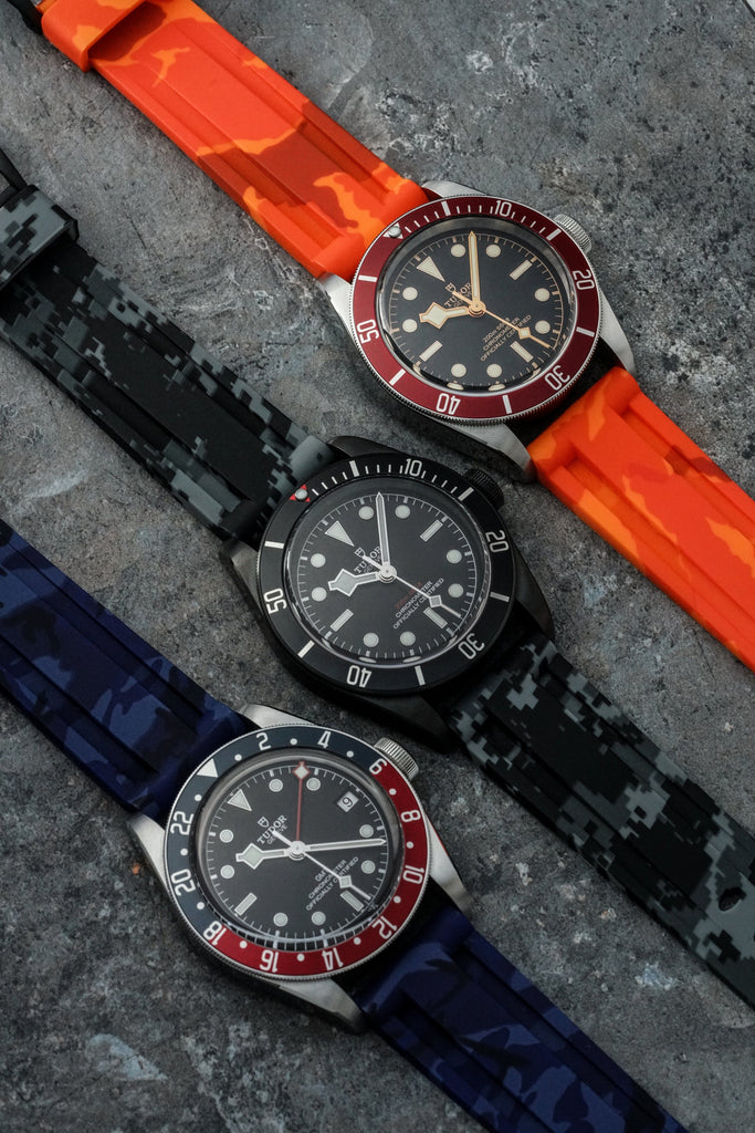 BLUE CAMO TUDOR BLACK BAY STRAP