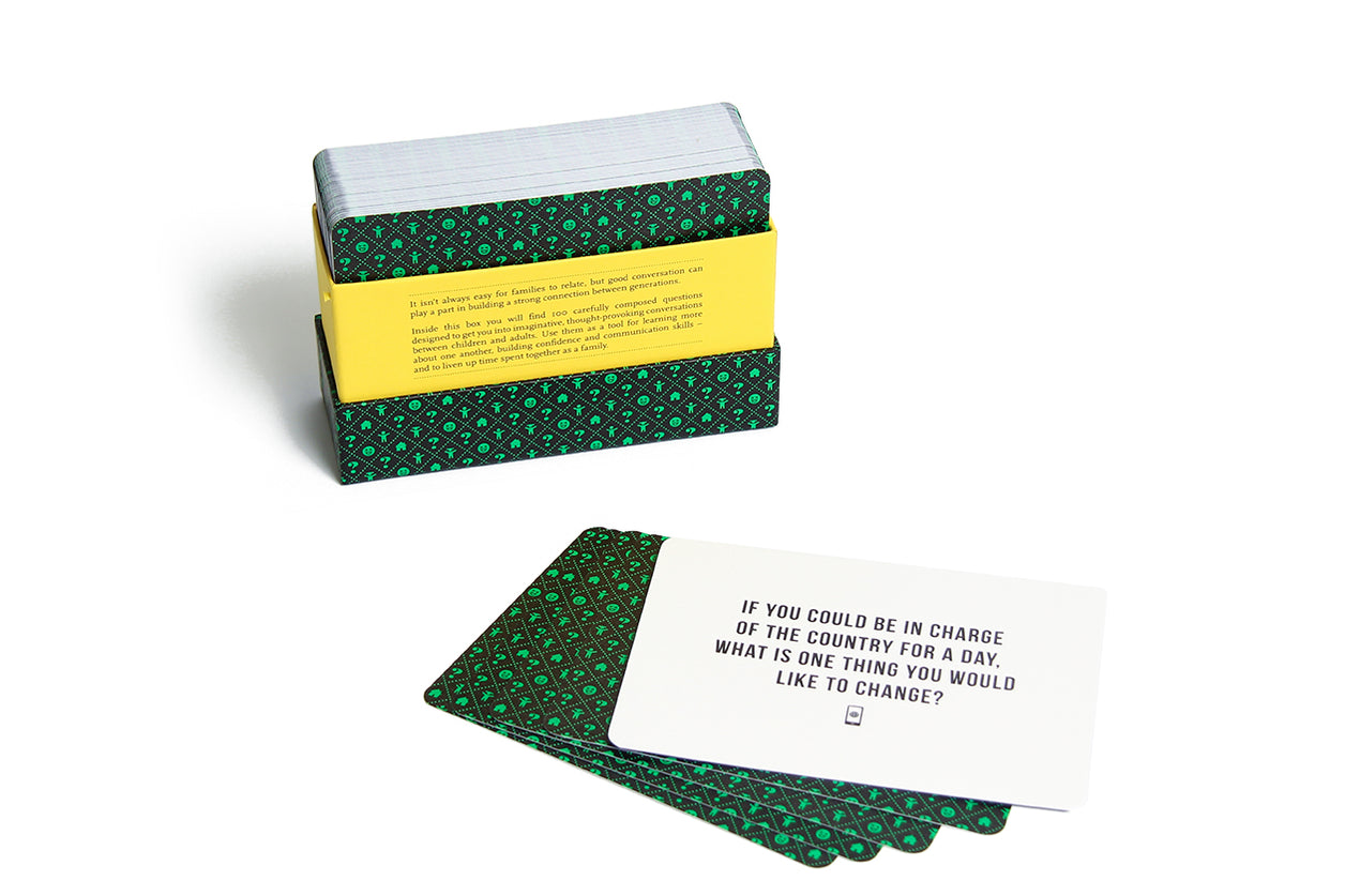 The School of Life Card Set 100 Questions Family Edition
