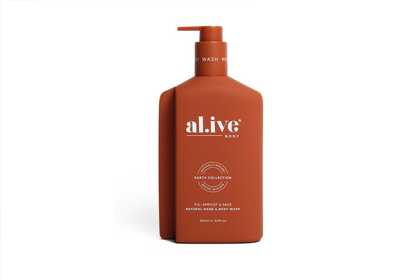 Hand & Body Wash Fig Apricot & Sage