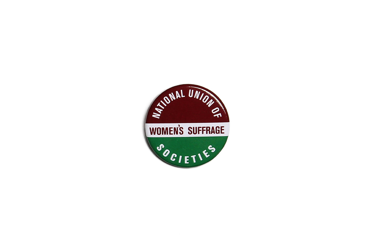 Suffragette Union Green Purple Badge