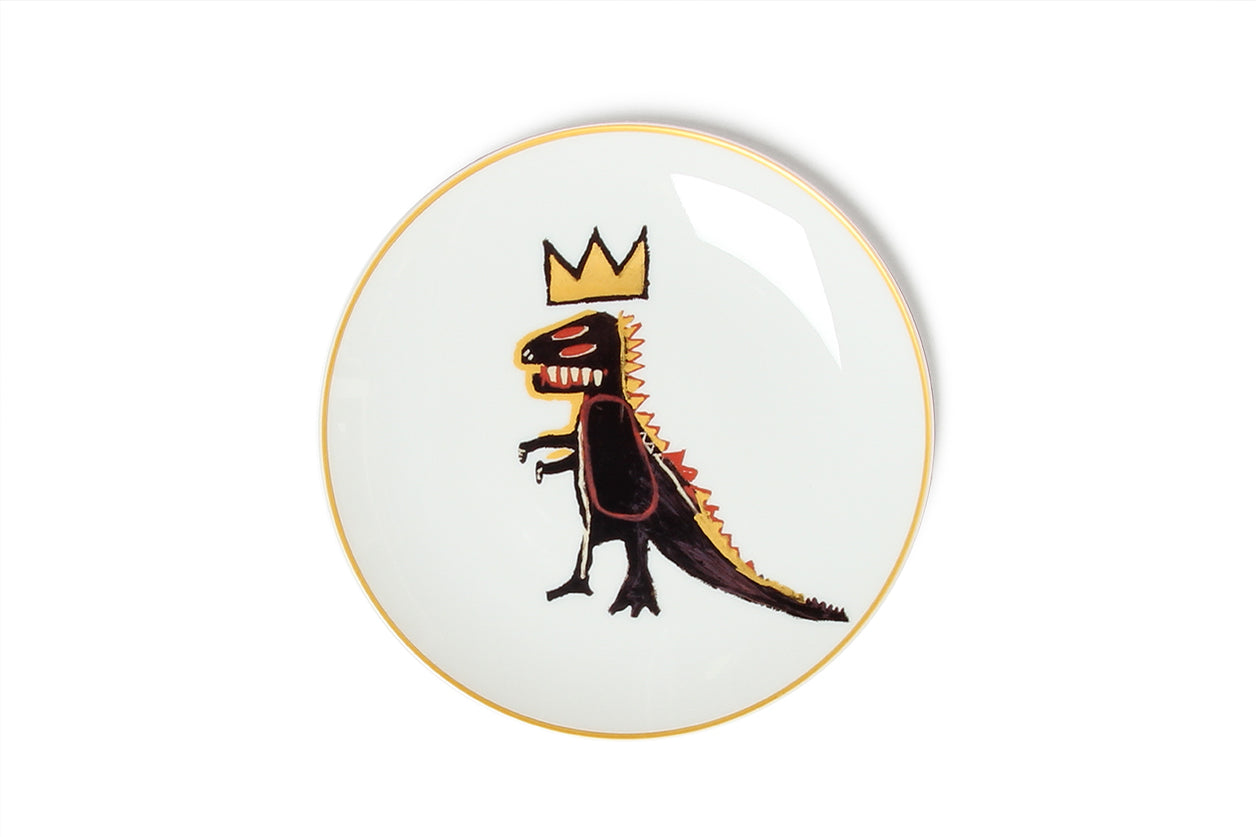 Plate Gold dragon