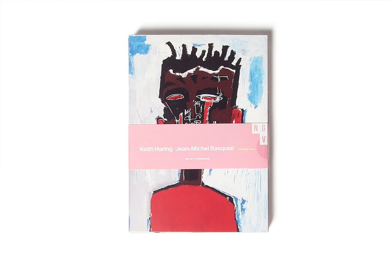 Notecard Set of 12 Jean-Michel Basquiat