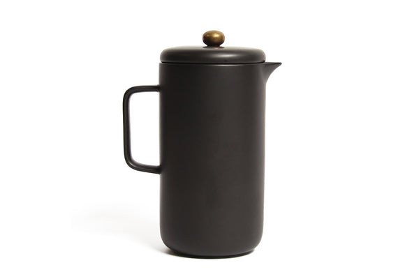 Coffee Plunger Black Gold