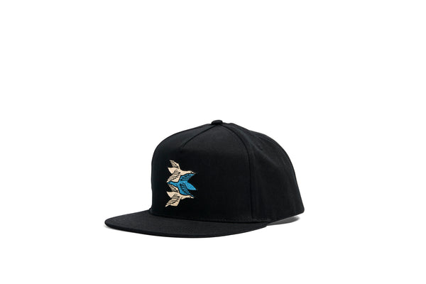 Cap Birds Embroidered M. C. Escher