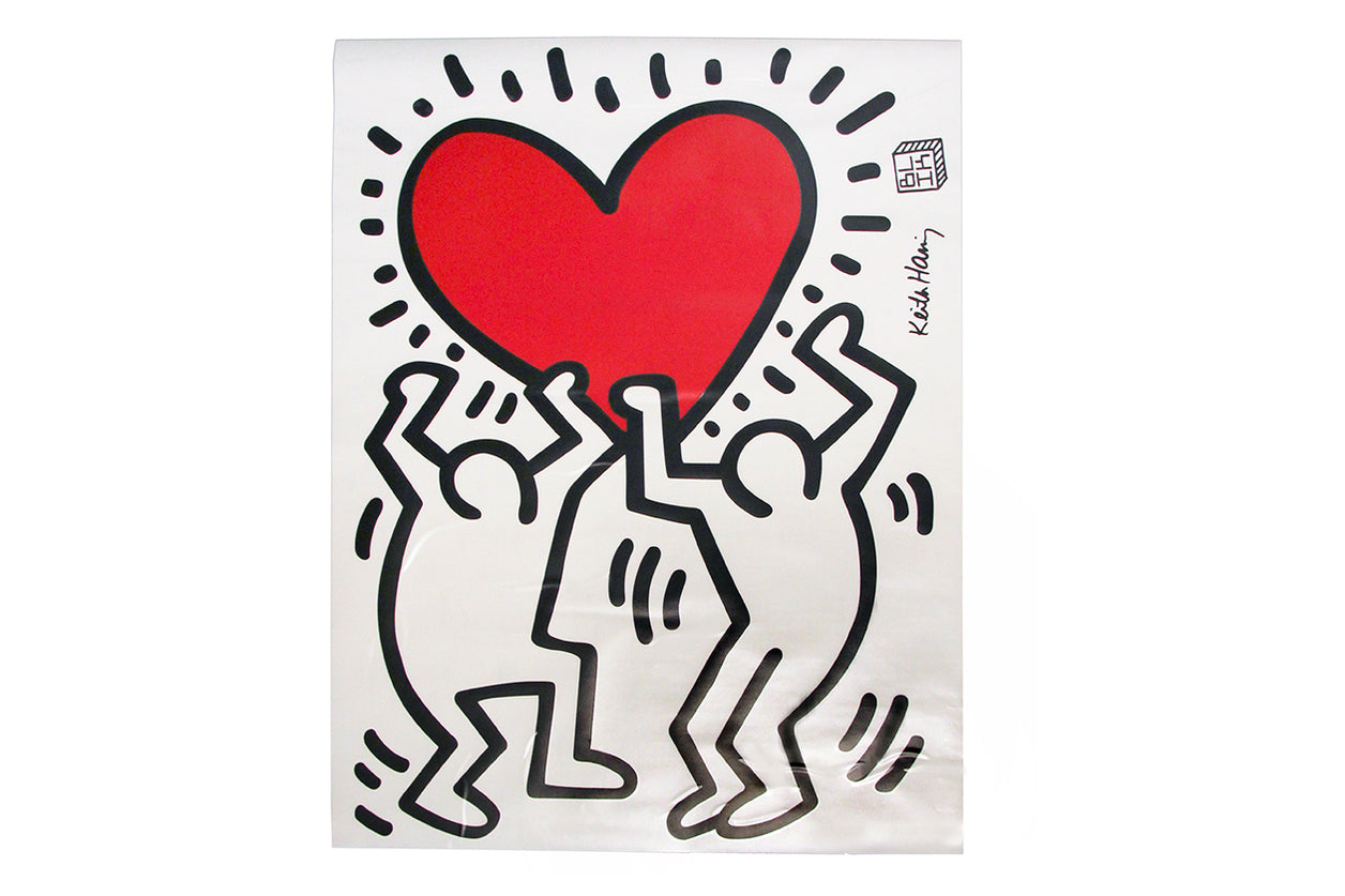 Decal Sticker Untitled Heart Haring