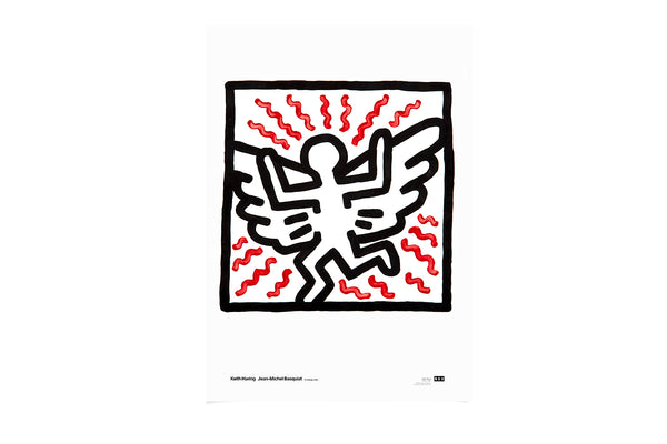 Poster Angel Untitled 1982 Keith Haring