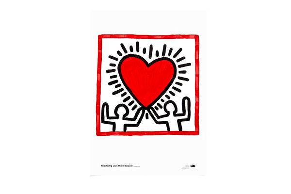 Poster Heart Untitled 1982 Keith Haring