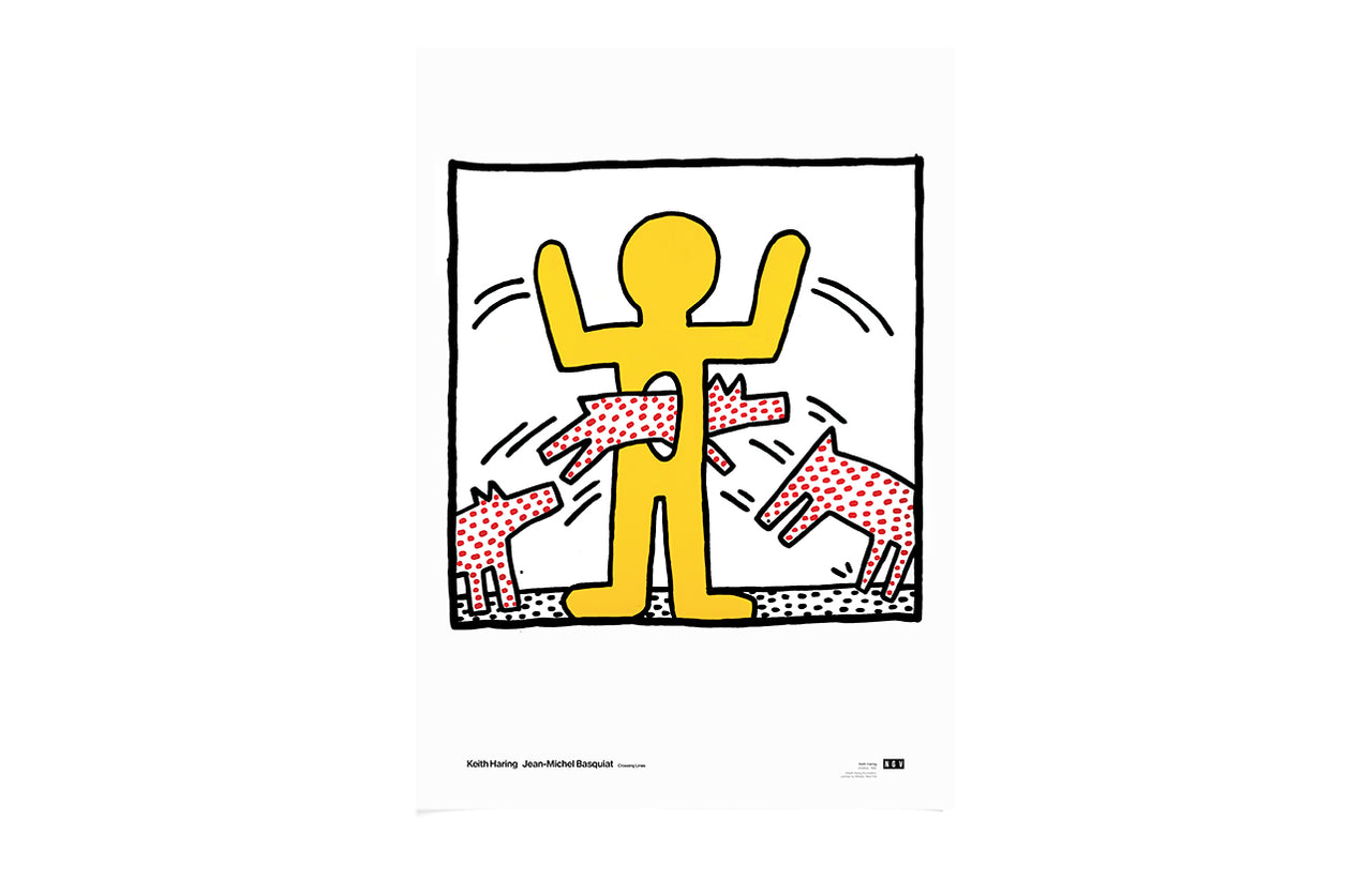 Poster Jumping Dog Untitled 1982 Keith Haring